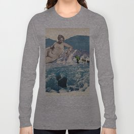 Vintage photo collage #214 Long Sleeve T-shirt