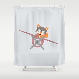 Flying Fox Shower Curtain