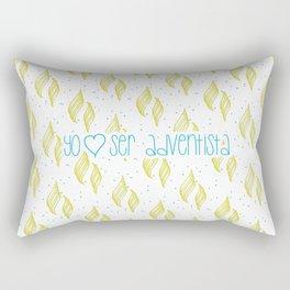 Yo amo ser Adventista Rectangular Pillow