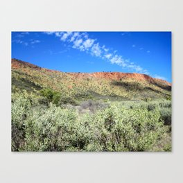 Great Dividing Range Canvas Print