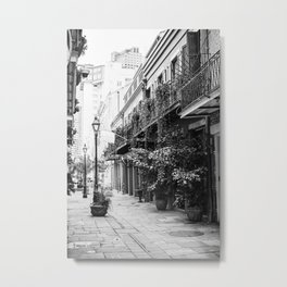 New Orleans Exchange Place Metal Print