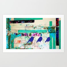 I'm a bird,your a bird. Art Print