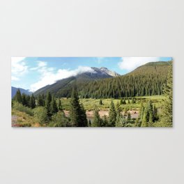 Mineral Creek - Heart of the 1880's Silver and Gold Rush in the San Juans Canvas Print