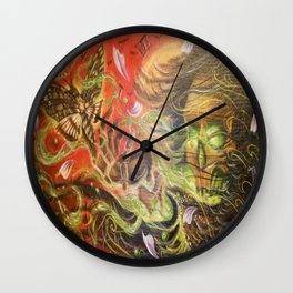 Transition from Fear Wall Clock