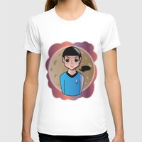 spock T-shirts featuring Spock by hannahroset