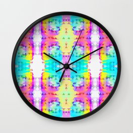 Bright Tribomb Wall Clock