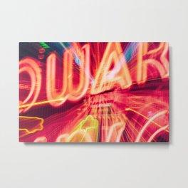 Those Neon Lights Metal Print