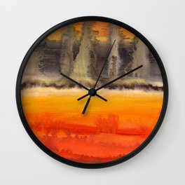 Improvisation 18 Wall Clock