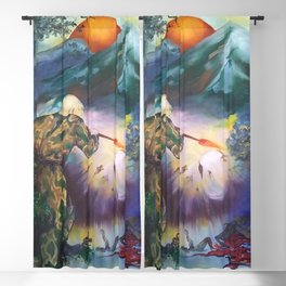 """"""" War Never Solved Anything """" Blackout Curtain"""
