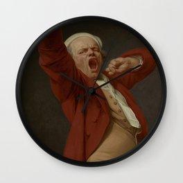 Joseph Ducreux - Self-Portrait, Yawning Wall Clock