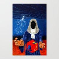 doom Canvas Prints featuring Doom by Lupo Solitario