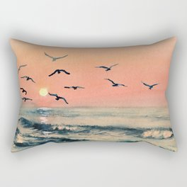 A Place In The World Rectangular Pillow