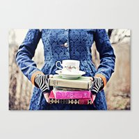alice wonderland Canvas Prints featuring Wonderland by Joshua Wilcoxon Photography