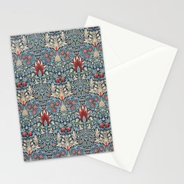 Snakeshead William Morris Textile Pattern Stationery Cards