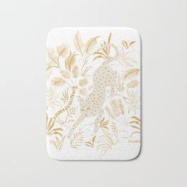 Golden Cheetah Bath Mat