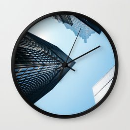 Sky High II Wall Clock