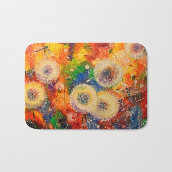 Colors of summer Bath Mat