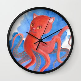 Octopussy Wall Clock