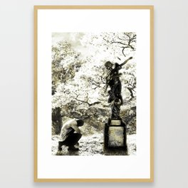 Angela's Sway Framed Art Print