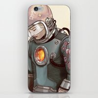 megaman iPhone & iPod Skins featuring Megaman by Sheharzad