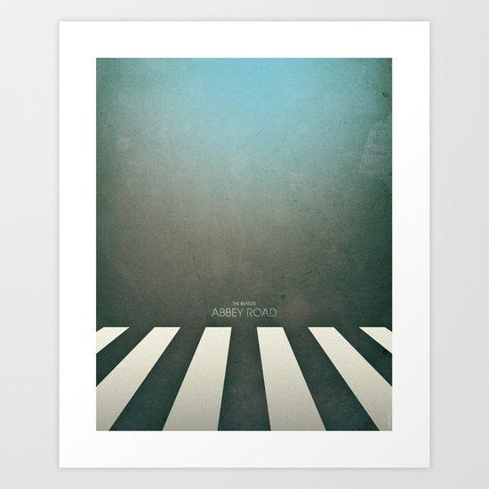 Smooth Minimal - Abbey road Art Print