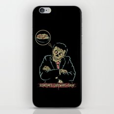 Sometimes i just want a salad iPhone & iPod Skin