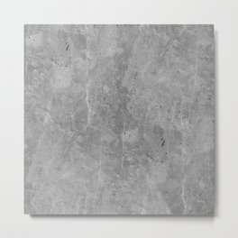 Simply Concrete II Metal Print