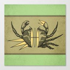 grab my crab Canvas Print