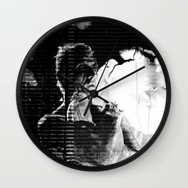 Like tears in rain... - PRIS version Wall Clock