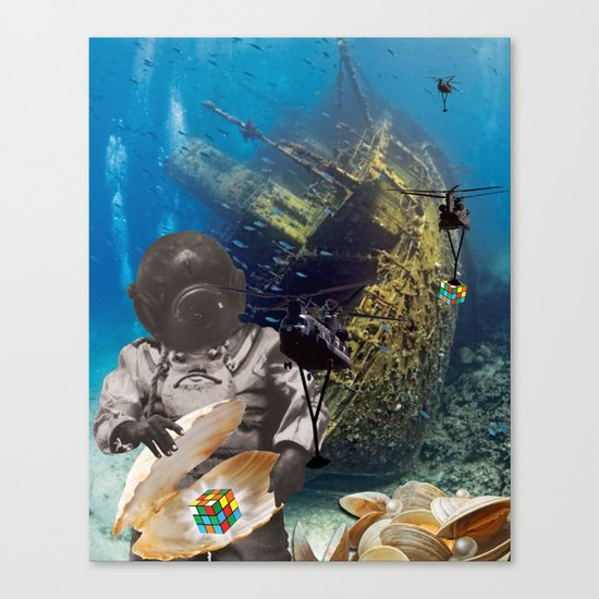 The Universal Currency Canvas Print