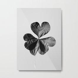 "P16036 ""4 leaf clover"" Metal Print"