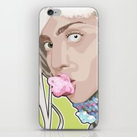 artrave iPhone & iPod Skins featuring artRAVE FREAKshow by AdamAether