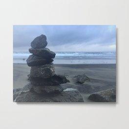 Serenity At Muir Beach Metal Print