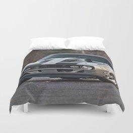 Silver Muscle car  Duvet Cover