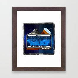 Star Brews - The Coffee Wars - Jeronimo Rubio Photography and Art 2016 Framed Art Print