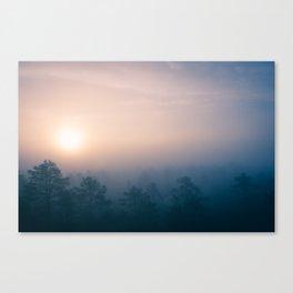 Sunrise in Heaven Canvas Print