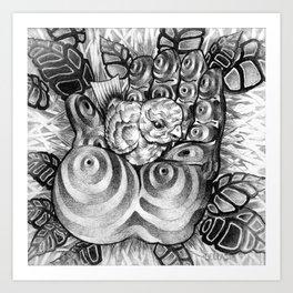 Safety Nest Art Print