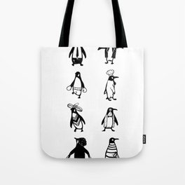 Penguin Jobs Funny Animals Cute Gift Tote Bag
