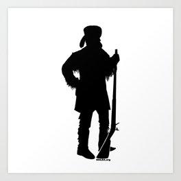 Mountain Man Decal Art Print