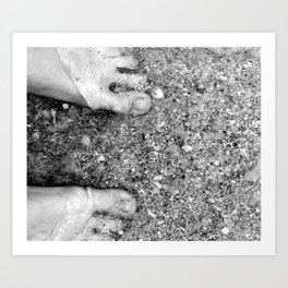 Beautiful Feet Art Print