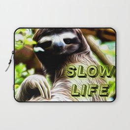 Slow Life Laptop Sleeve