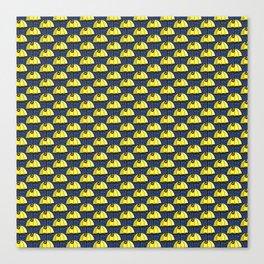 Umbrella of Sunshine Yellow Canvas Print