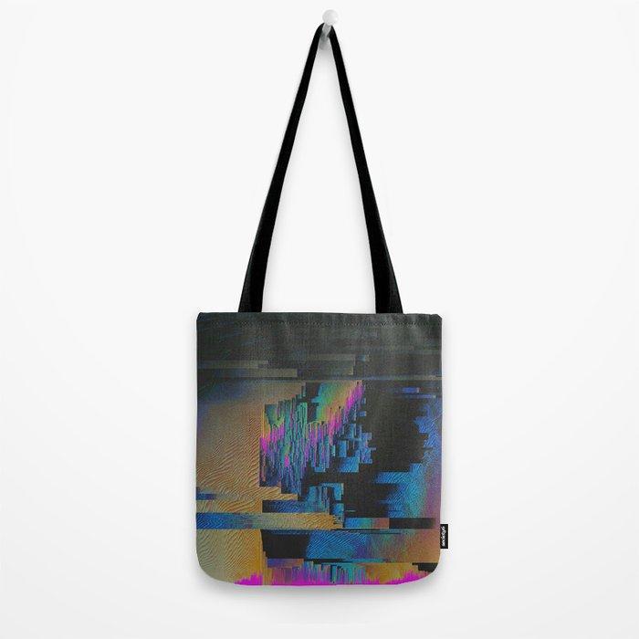 Bismuth Crystal Tote Bag