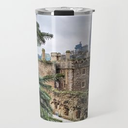 View of the Shard from the Tower of London Travel Mug