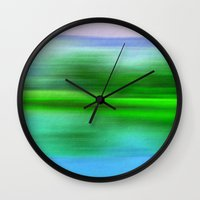 poem Wall Clocks featuring EARTH POEM by Catspaws