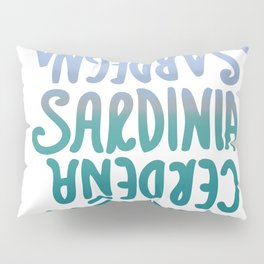 Sardegna, languages Pillow Sham