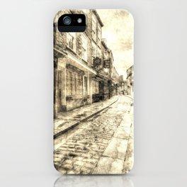 The Shambles York Vintage iPhone Case