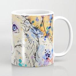 Frost - Watercolor fox painting Coffee Mug