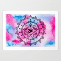 ohm Art Prints featuring Ohm by Frida Glans