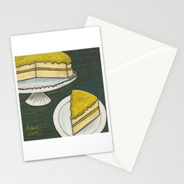 Lemon Cake Stationery Cards